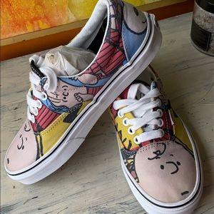 VANS• Peanuts, Snoopy, Charlie, Linus• 6.5M 7.5W